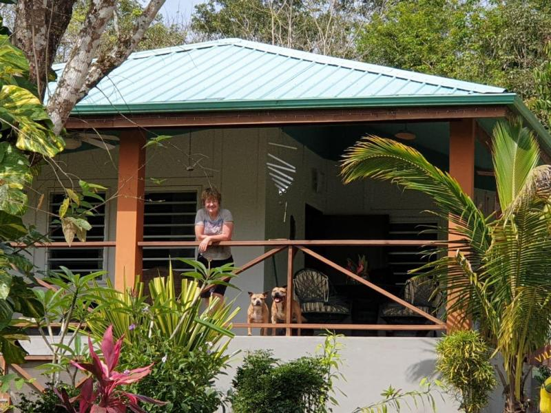 Staying in the MAYA HILL guest house (2nd April to 31st May)